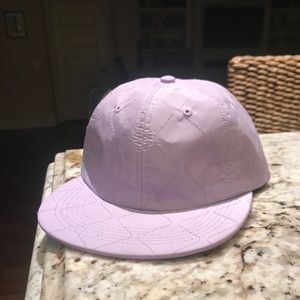 GOLF PURPLE QUILTED HAT